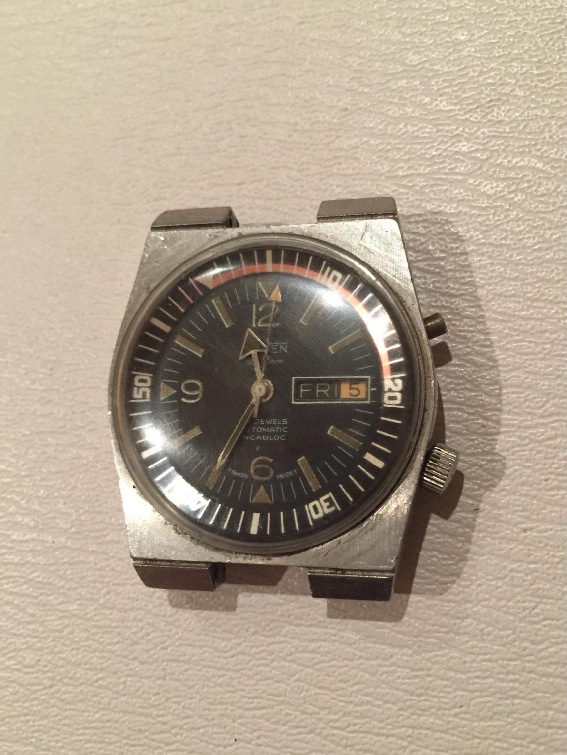[Orven] Today's vintage wear : Watches - reddit.com