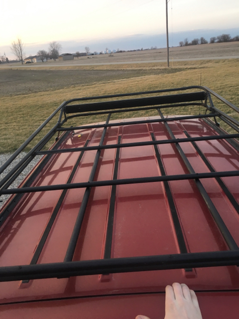 Cheap roof rack build for Cheapest roof to build