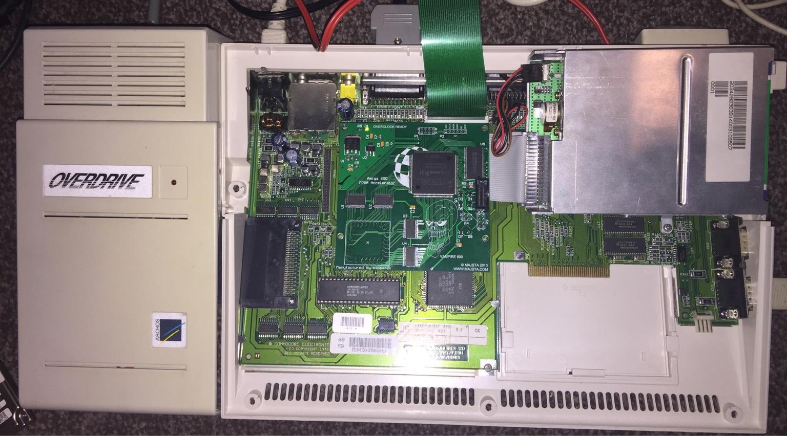 Sold Vampire 600 V1 - Amiga 600 FPGA accelerator