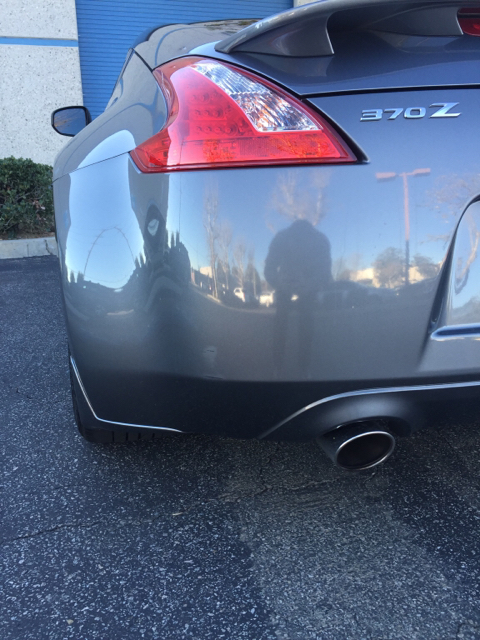 Help Someone Dinged My Car In A Parking Lot Nissan 370z