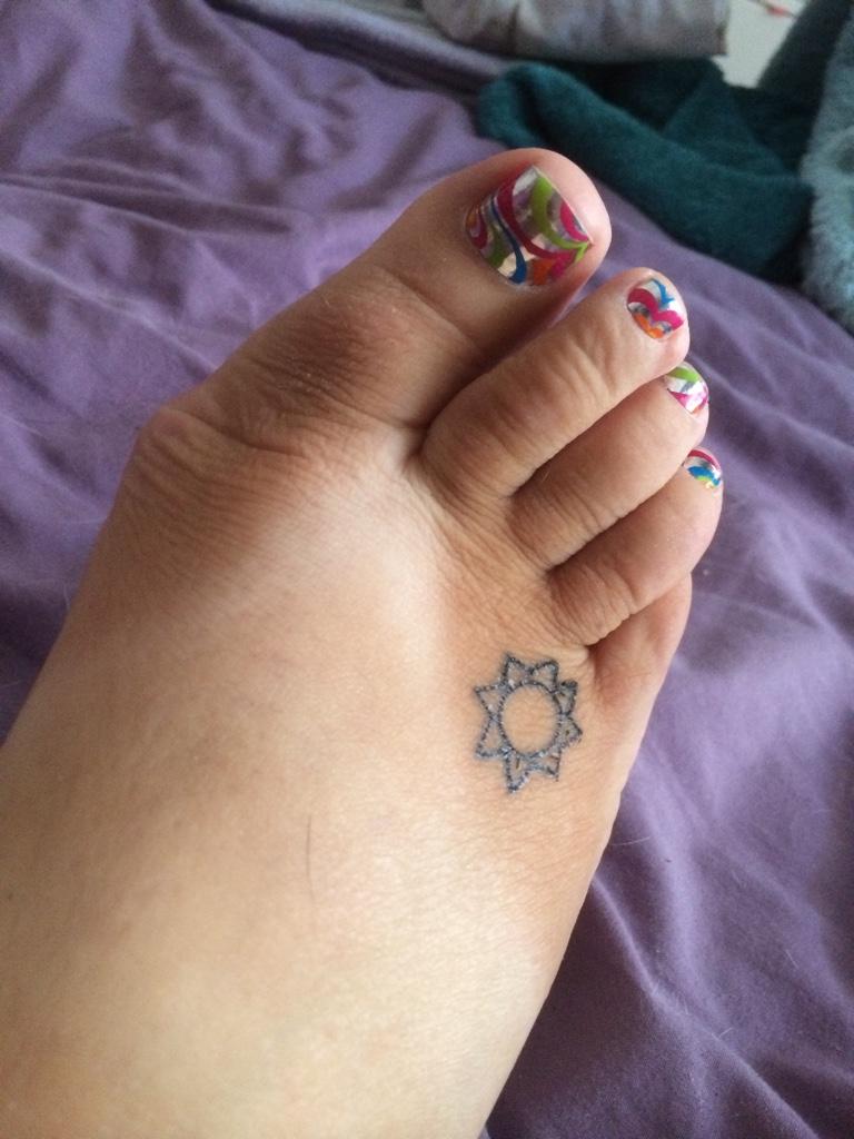 Bleeding under toenail. (Don\'t look if you don\'t like feet!!!- sorry ...