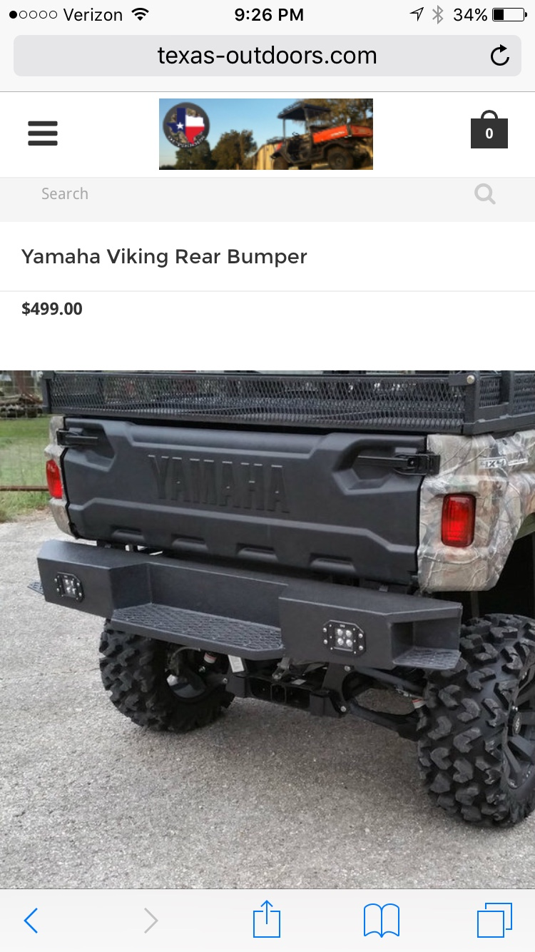 Yamaha Viking Forum Has Anybody Tried These Bumpers Before