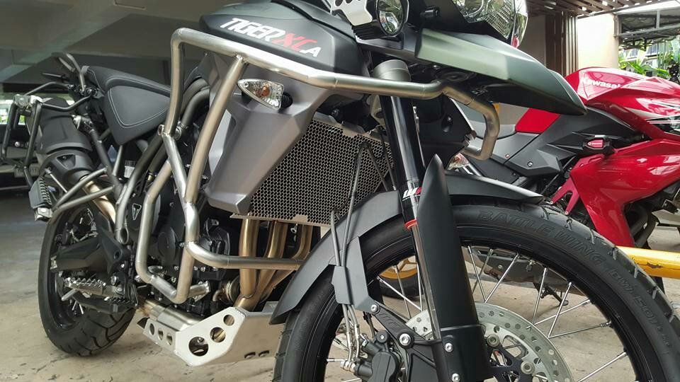 upper crash bars for tiger 800 xcx | page 3 | adventure rider