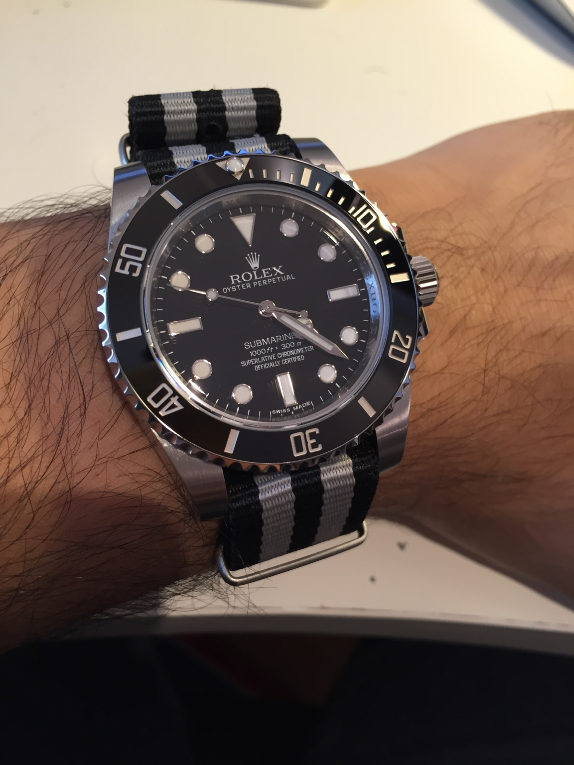 Show Me Your Submariner Strap Combo