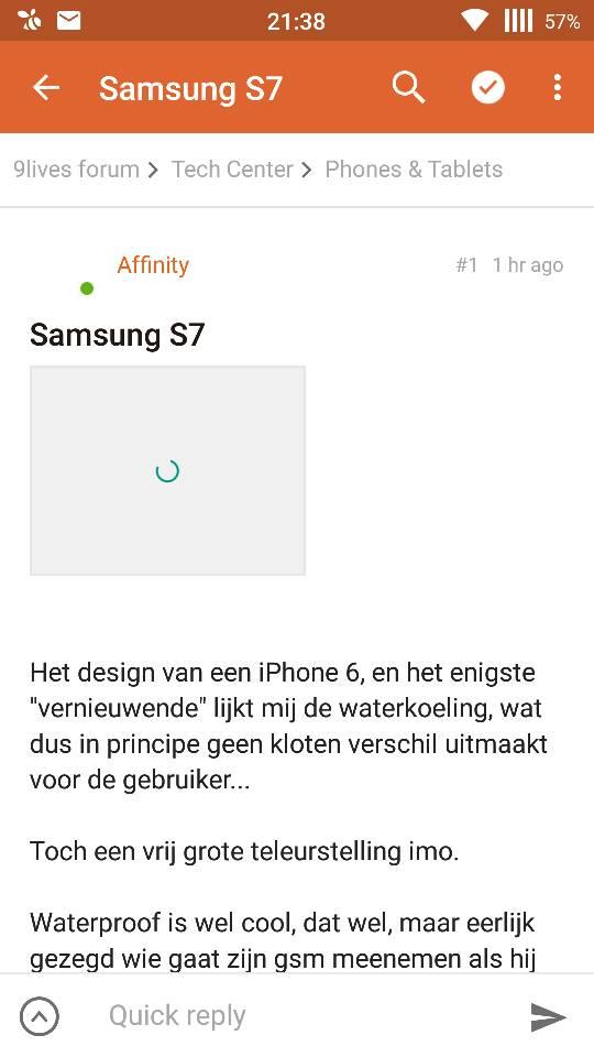 iphone in wc laten vallen