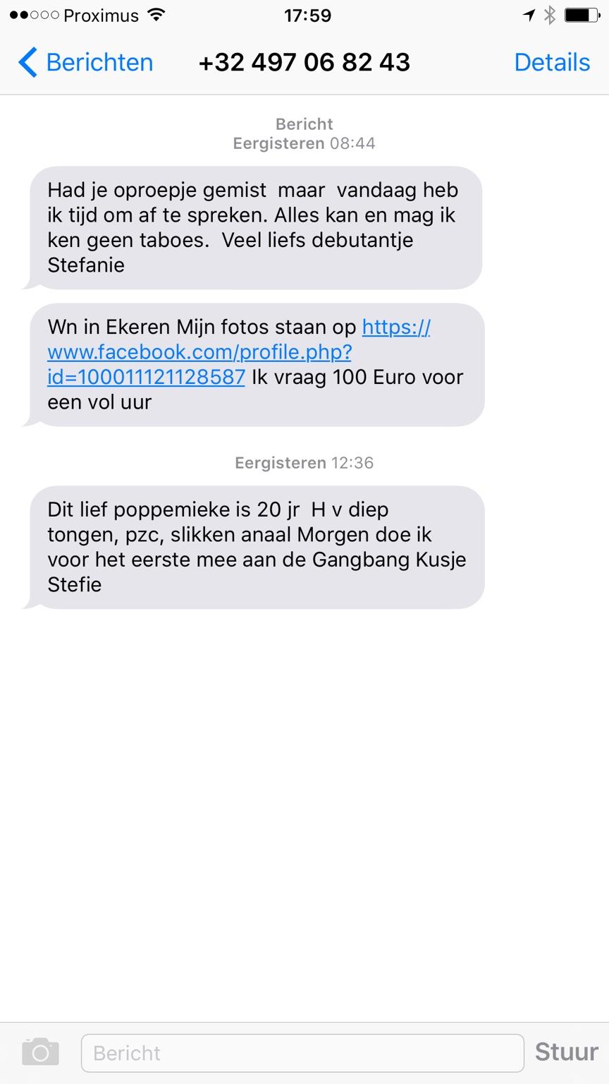 gratis anonieme sms versturen