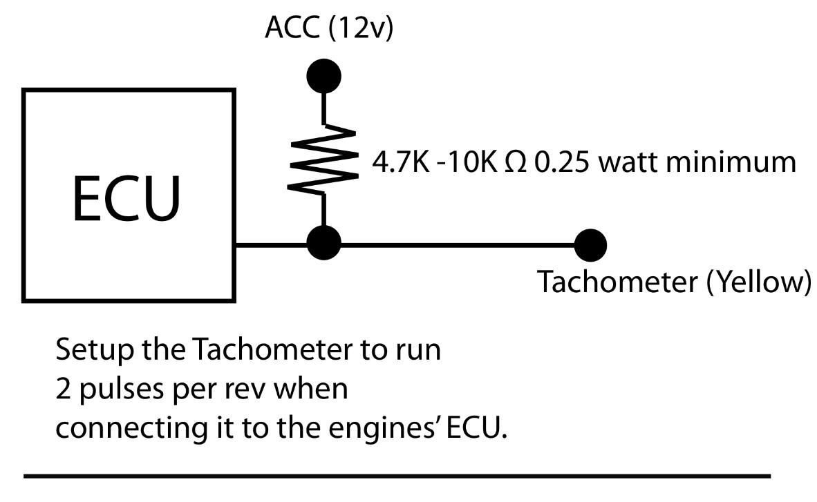 Icm Tach Wiring Schematics Diagrams 4 Wire Tachometer Diagram Kilometermagazine Com Signal Aeb Coil Diesel