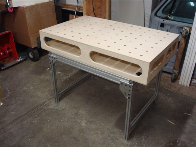 Router table adventurepic heavy then i got to thinking i could cut the underside to allow a router setup after measuring i found i couldnt because the torsion box wasnt deep keyboard keysfo Images