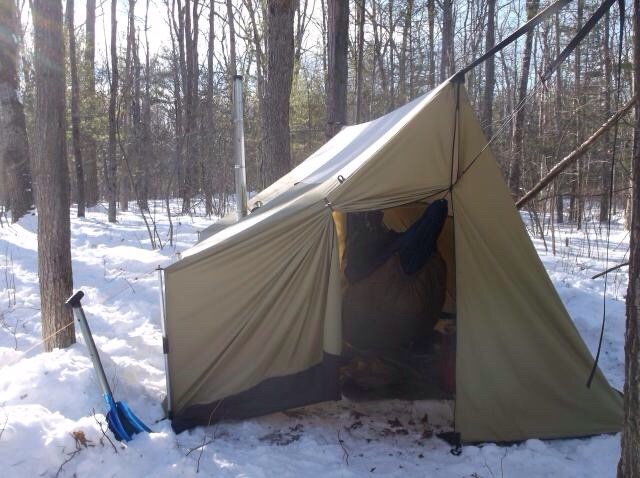 Diy Winter Shelters Hot Tents And Wood Stoves Bushcraft