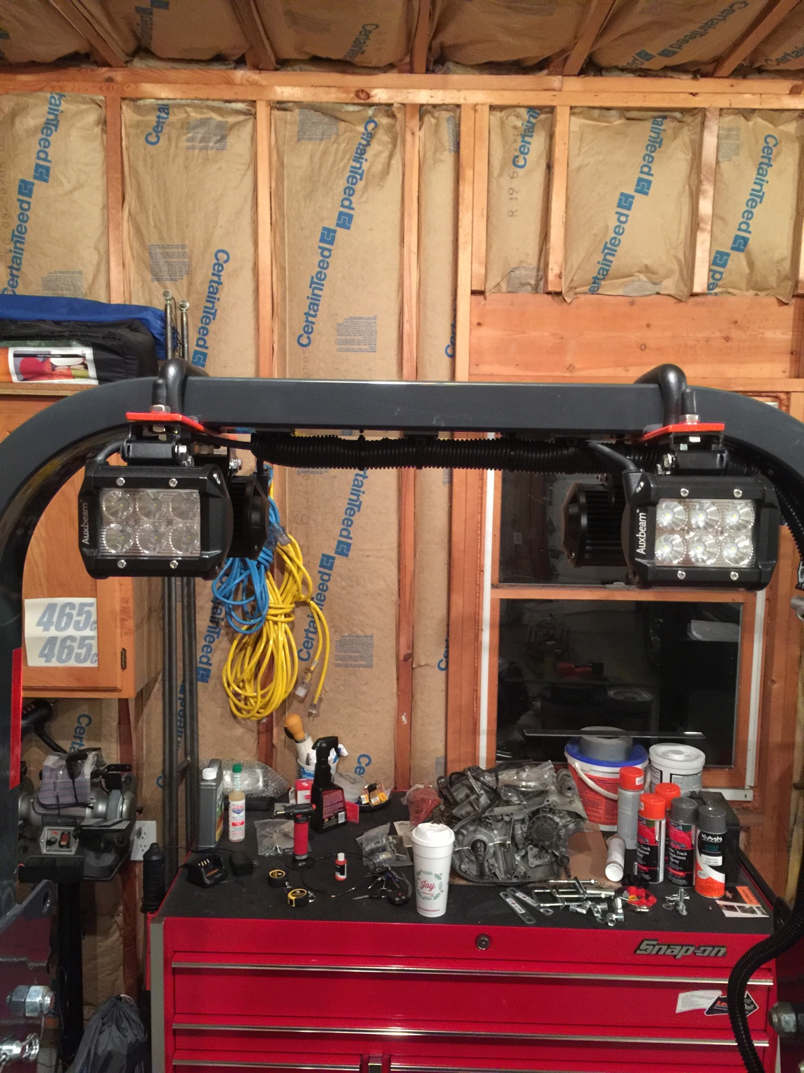 Post Your Rops Light Mounting Pics Orangetractortalks Everything
