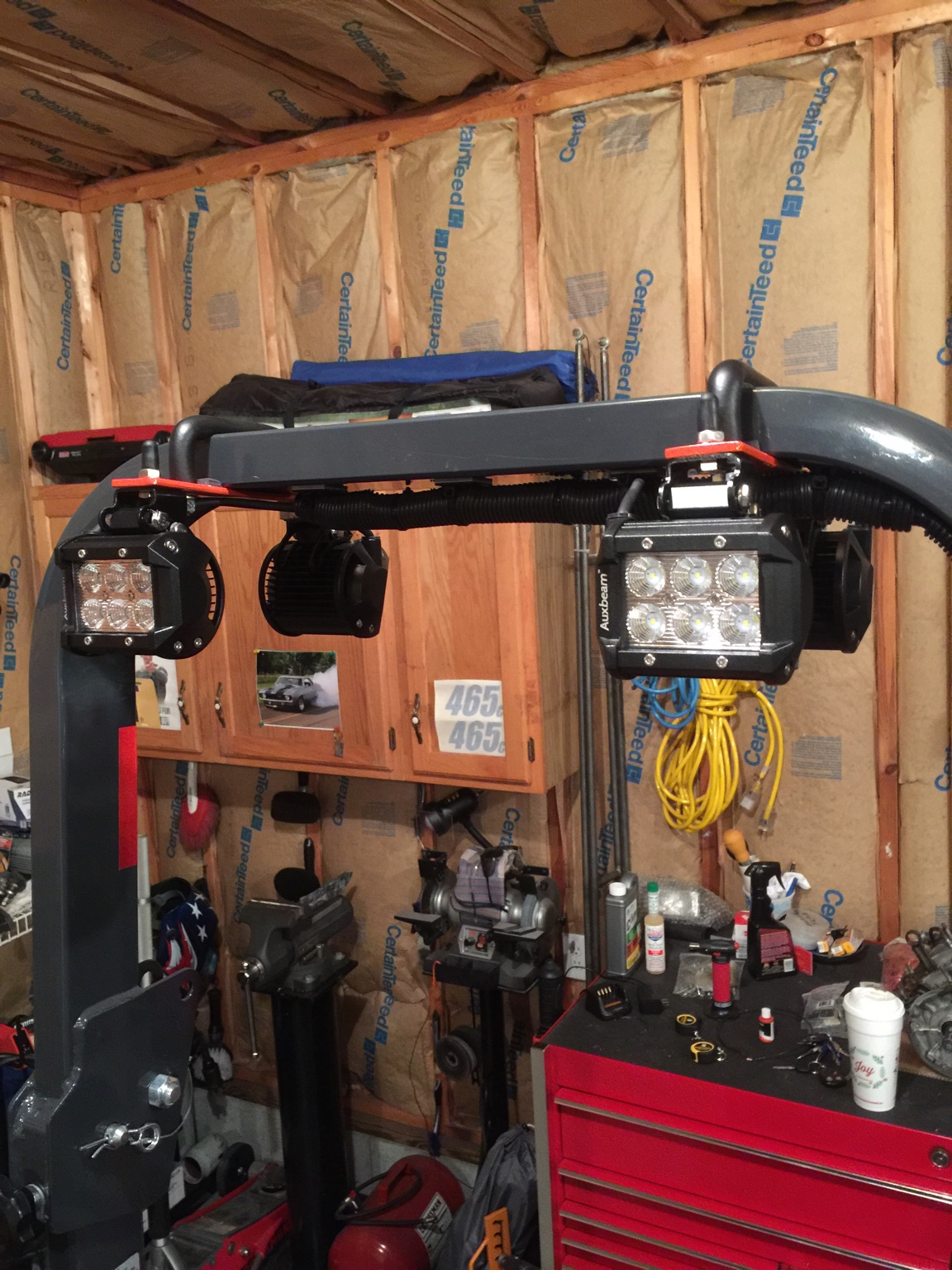 Post Your Rops Light Mounting Pics Orangetractortalks