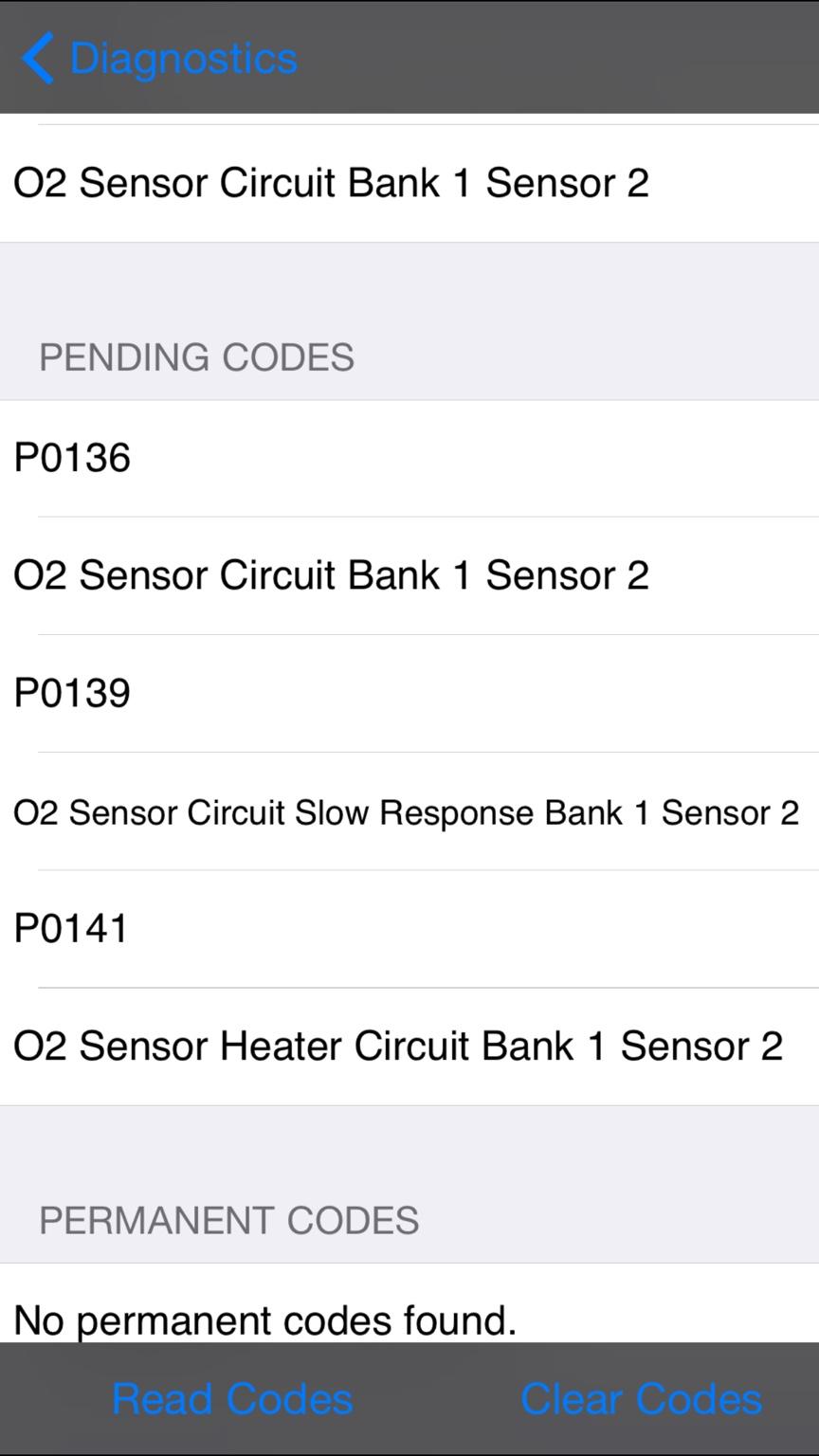 P0136 O2 Sensor Code 02 Circuit Sent From My Iphone Using Tapatalk