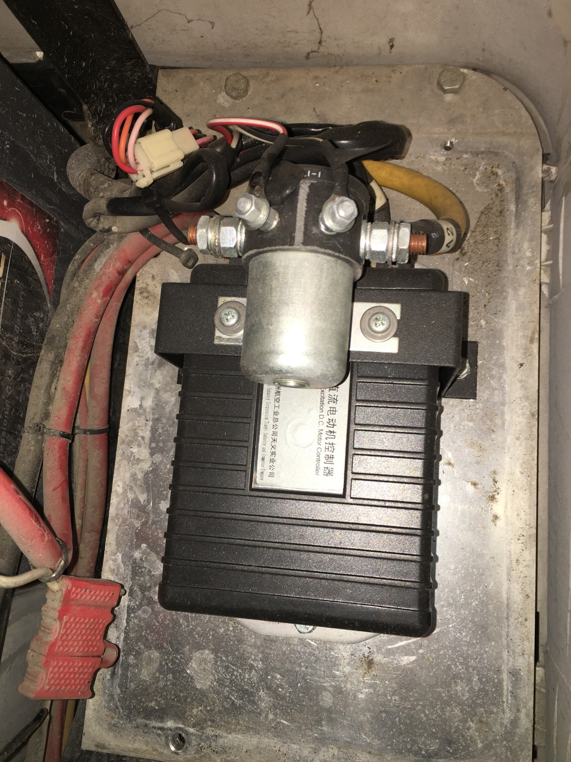 48 Volt Electric Cary Speed