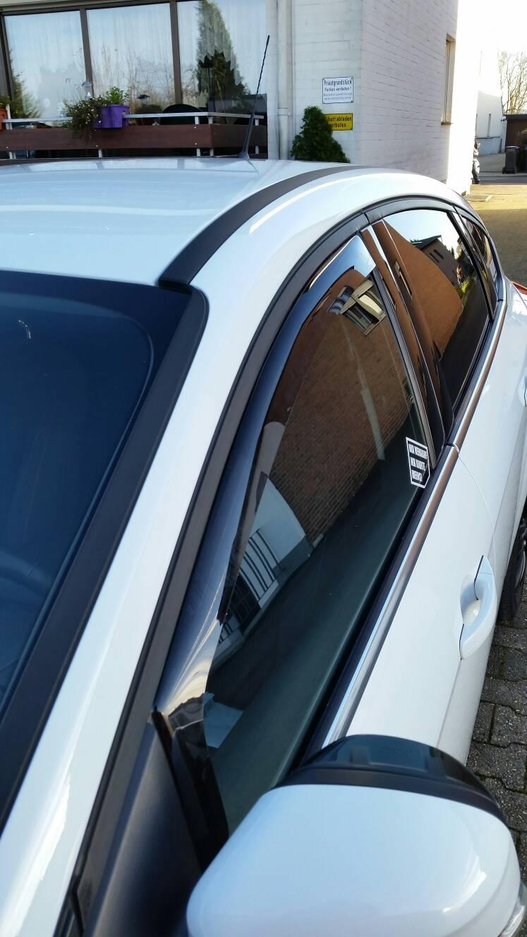 Climair Windabweiser hinten Opel Corsa E ab 2015