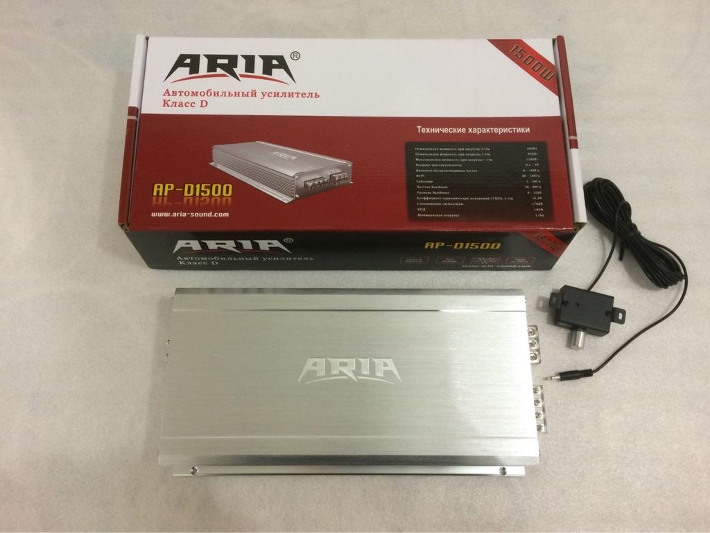 Автомобильный усилитель Aria AP-D1500 - фото 6