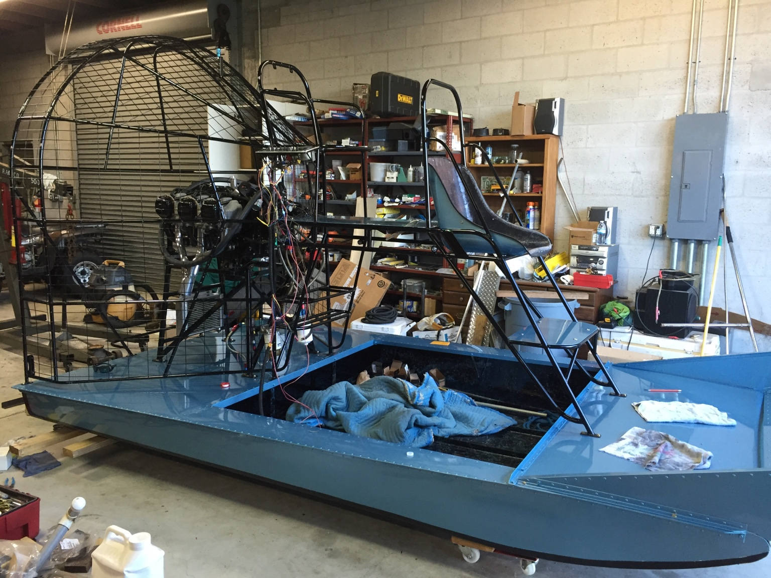 Aluminum Hull Paint Southern Airboat