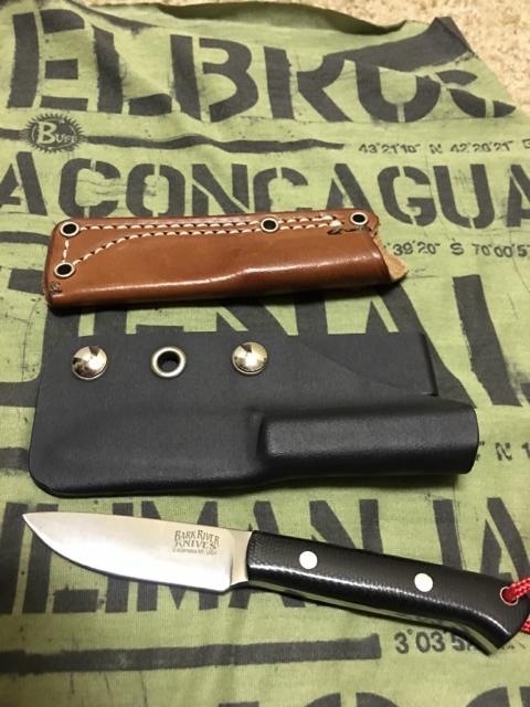 FS: Bark River Little Creek knife | Bushcraft USA Forums