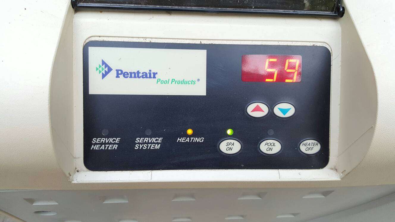 Pentair Mastertemp 400 Cycling Due To Low Gas Flow