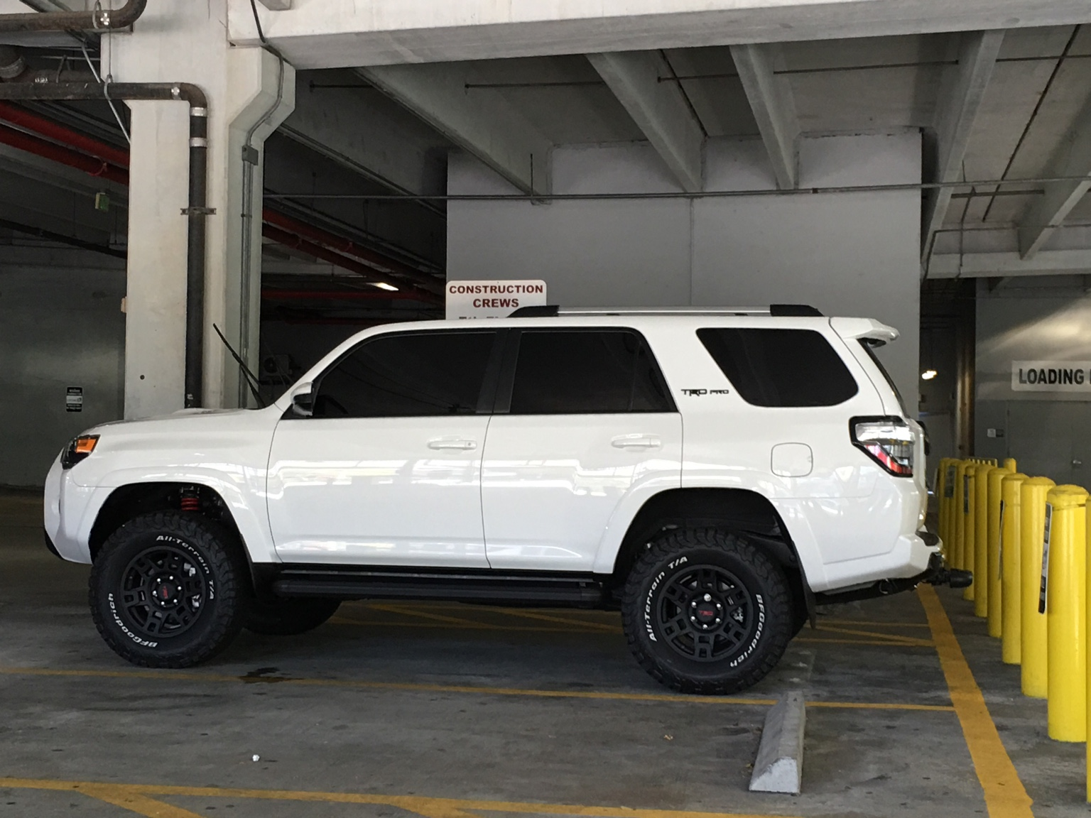 Trd 17 inch wheels with 285s? - Toyota 4Runner Forum ...