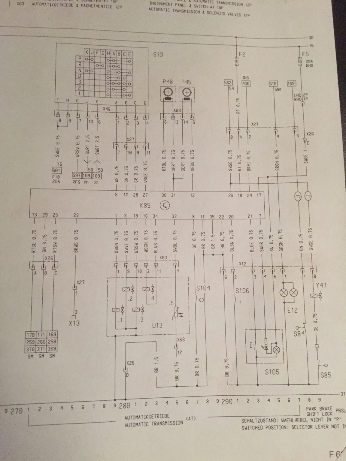 Wiring Diagram - Corsa B Automatic - Corsa-b Uk