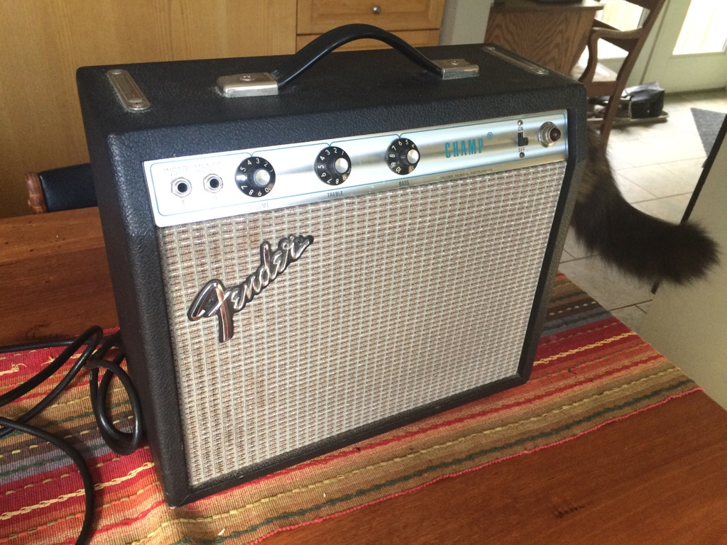 Silverface fender champ amp dating chart