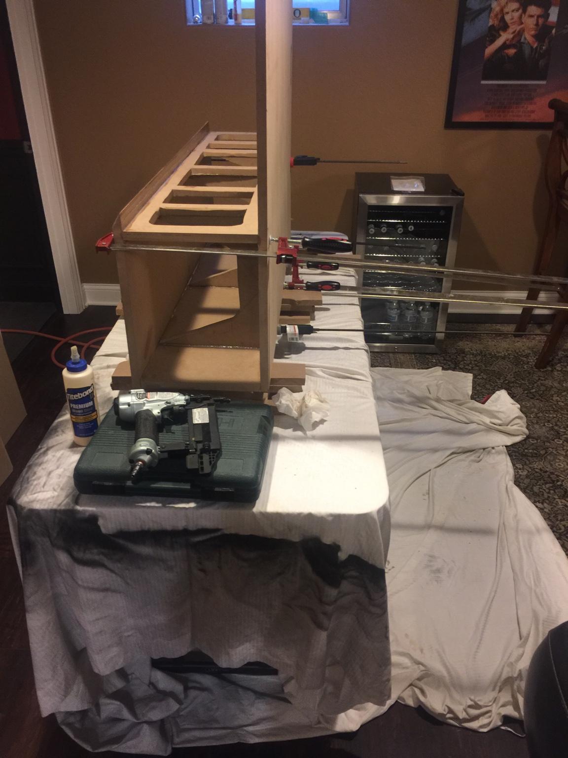 how to build a riser
