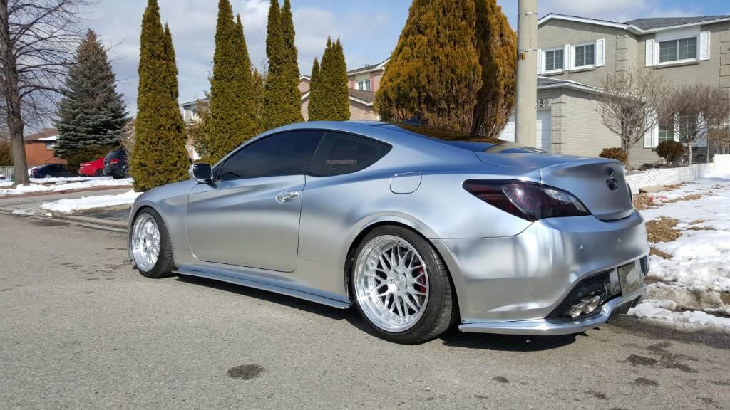 3 Chrome Wraps In 1 Year Hyundai Genesis Forum