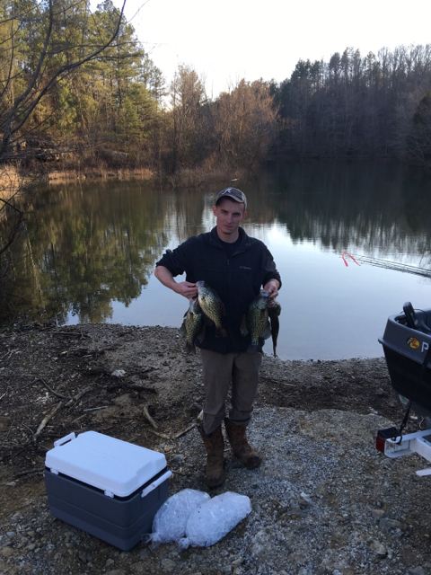 Crappie report for Weiss lake fishing report