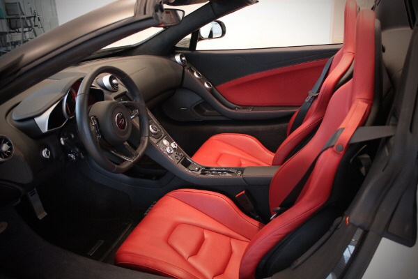 2015 McLaren 650S Spider  Http://www.longislandsportscars.com/...pider C 67.htm. Itu0027s Was A Straight  Up Harrisa Red Interior. No MSO. Full Leather Interior/ ...