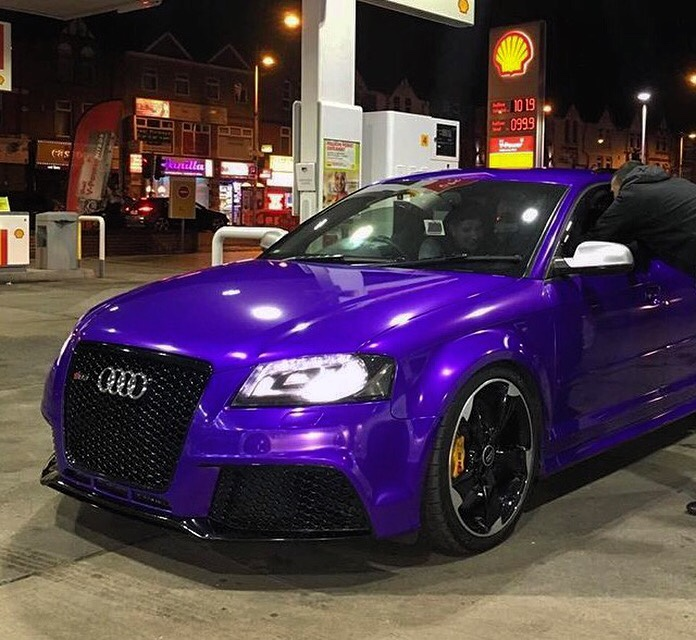 Newtothisforum Audi Rs3 Purple Sprint Blue Originally Audi