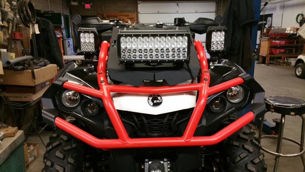 Led Light Bar Set Up Page 2 Can Am Atv Forum