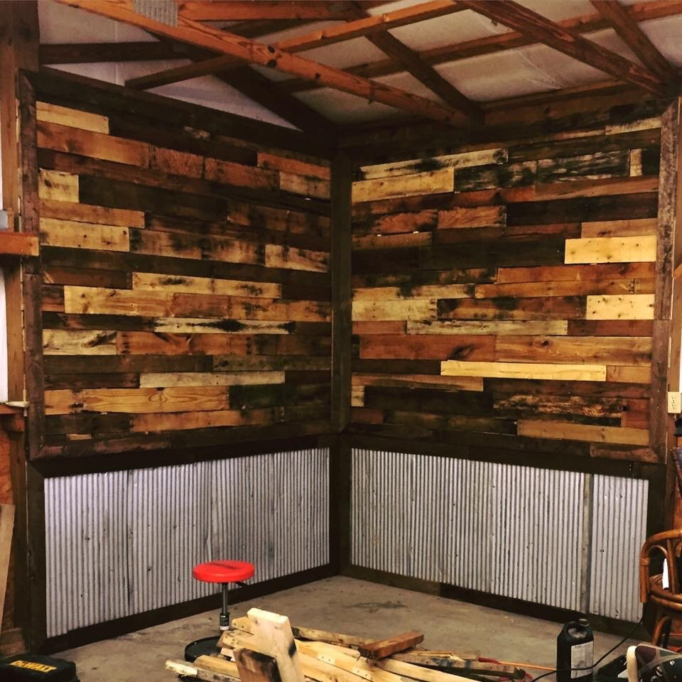 28 A Pallet Workbench For Future