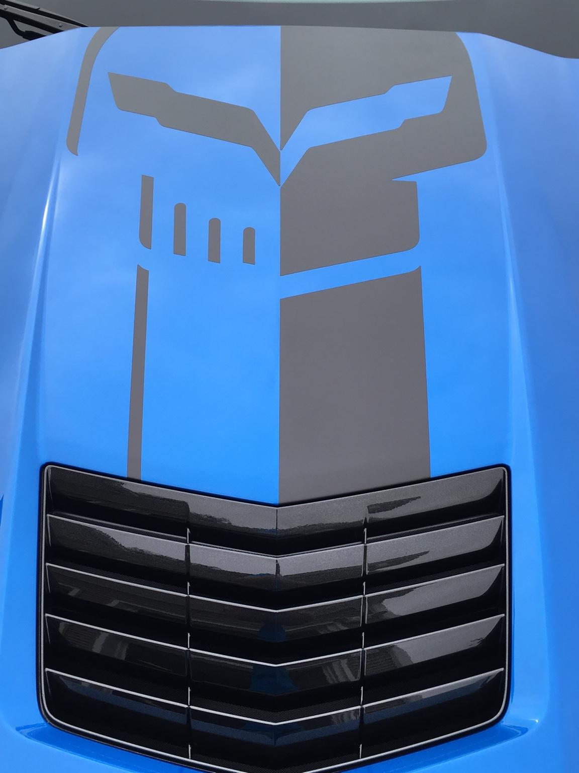 Corvette Racing Jake Skull Logo Page 3