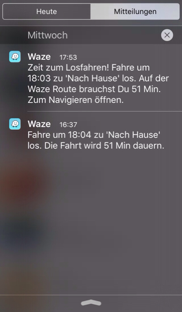 waze com • View topic - Time to leave notification