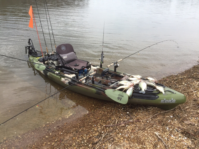 Kayak crappie tennessee 39 s fishing and for Fishing canoe setup