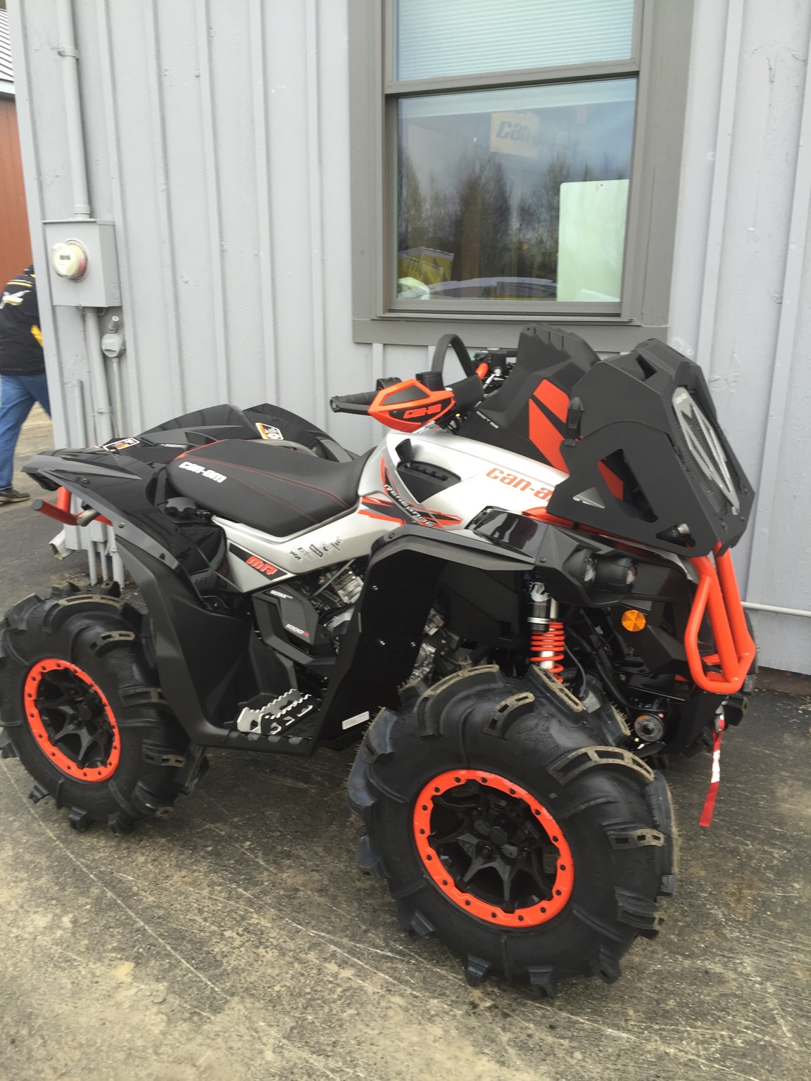 Can Am Xmr >> My XMR Renegade - Can-Am ATV Forum