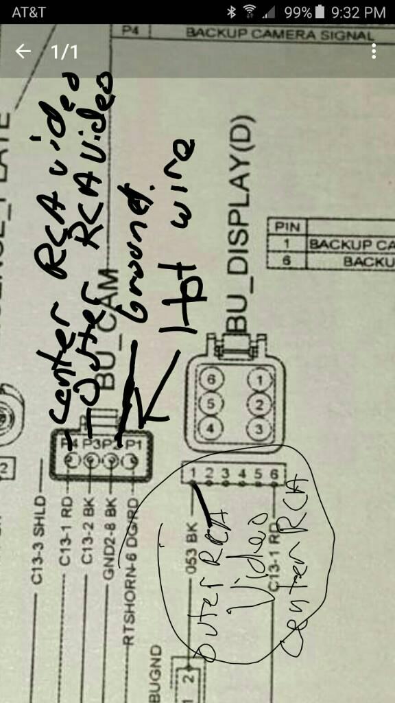 Polaris Rear View Camera Wiring Diagram : Polaris rear view camera wiring diagram