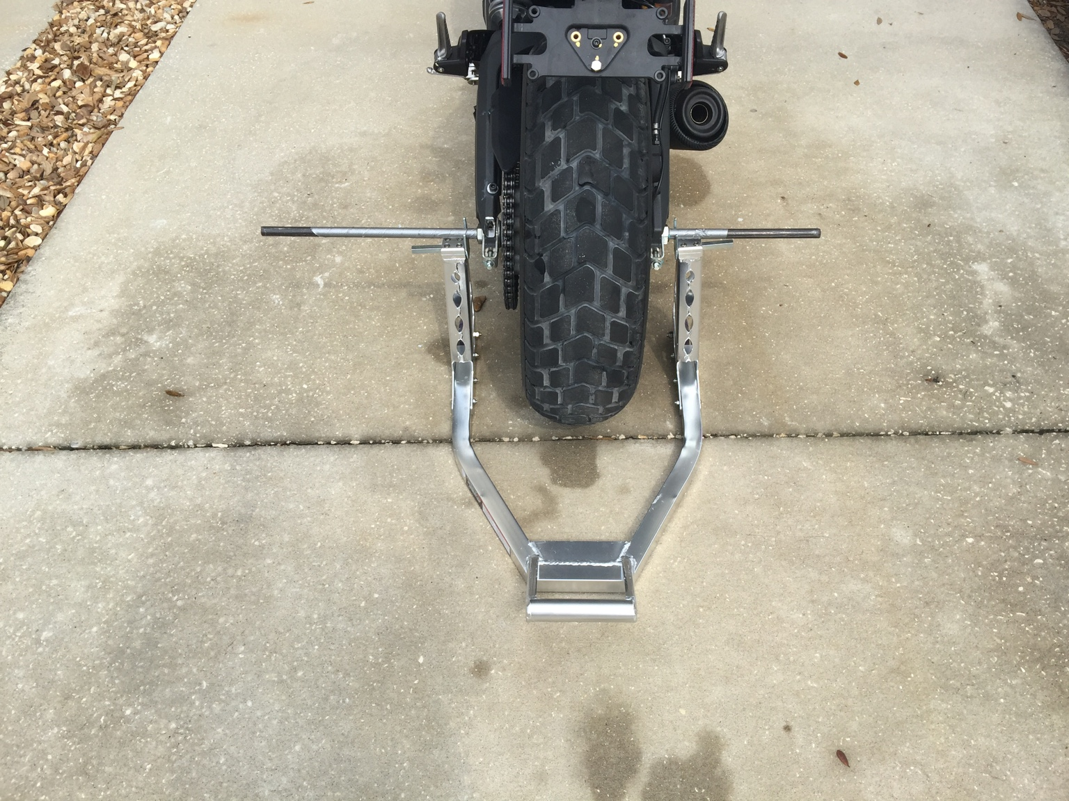 What S The Best Way To Lift This Bike Off The Ground