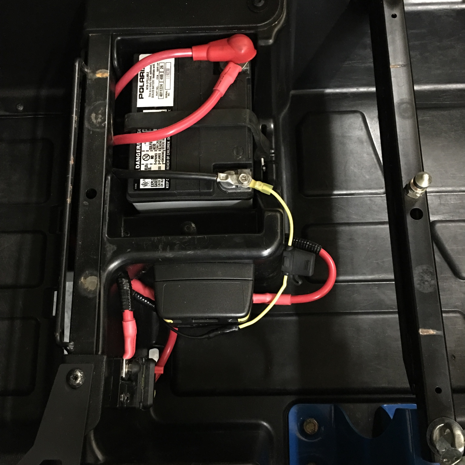 polaris rzr forum rzr forums net acc fuse block install