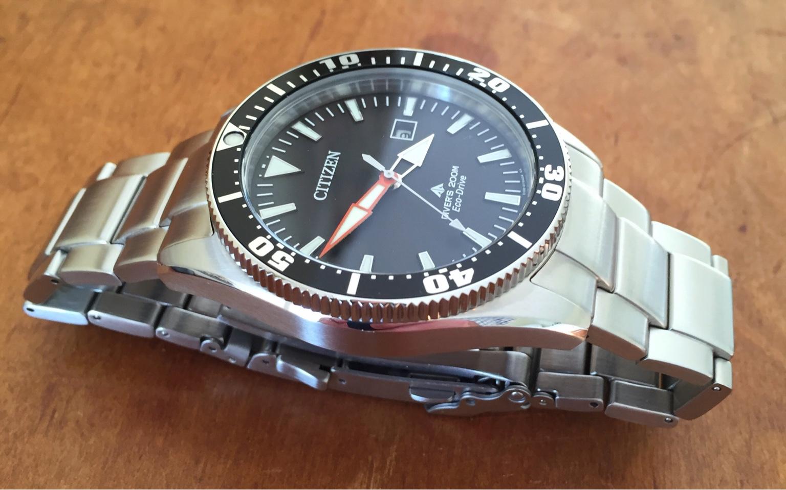 Wilson watch works vintage diver