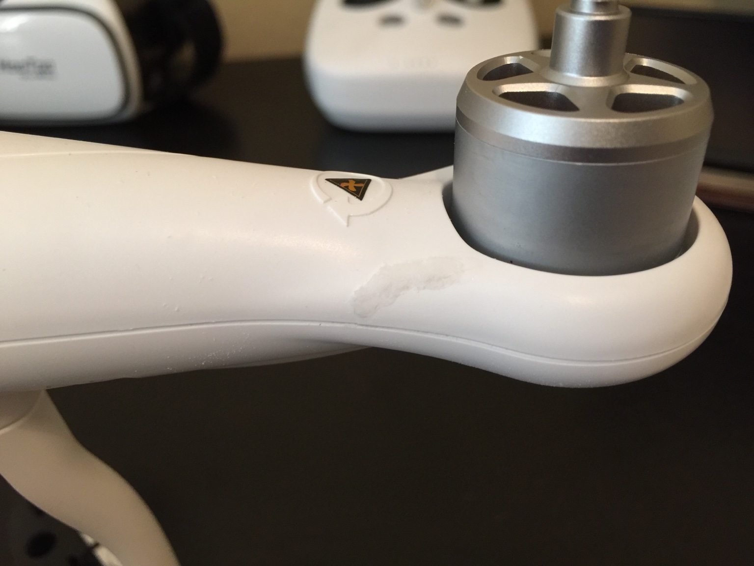 Gluing Stress Cracks - Baking Soda Trick | DJI Phantom Drone Forum