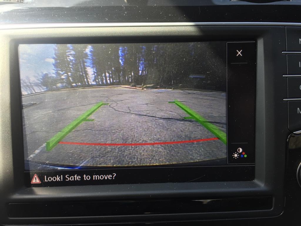 Backup camera screen question - GOLFMK7 - VW GTI MKVII Forum