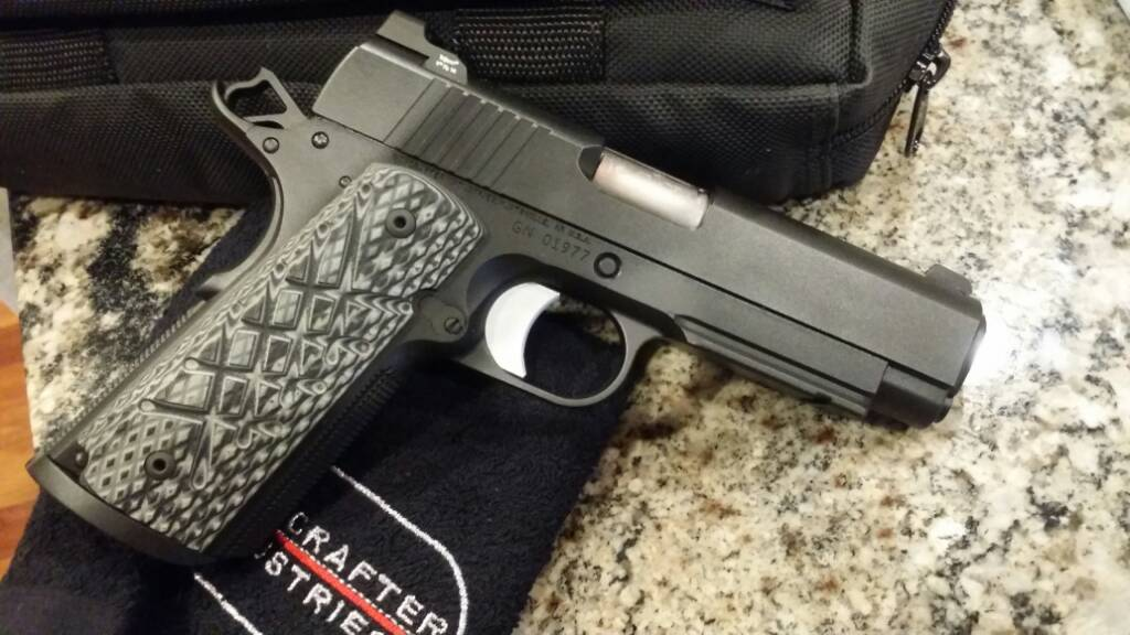 Guncrafter No Name 1911 Commander Sized 45 ACP - YouTube