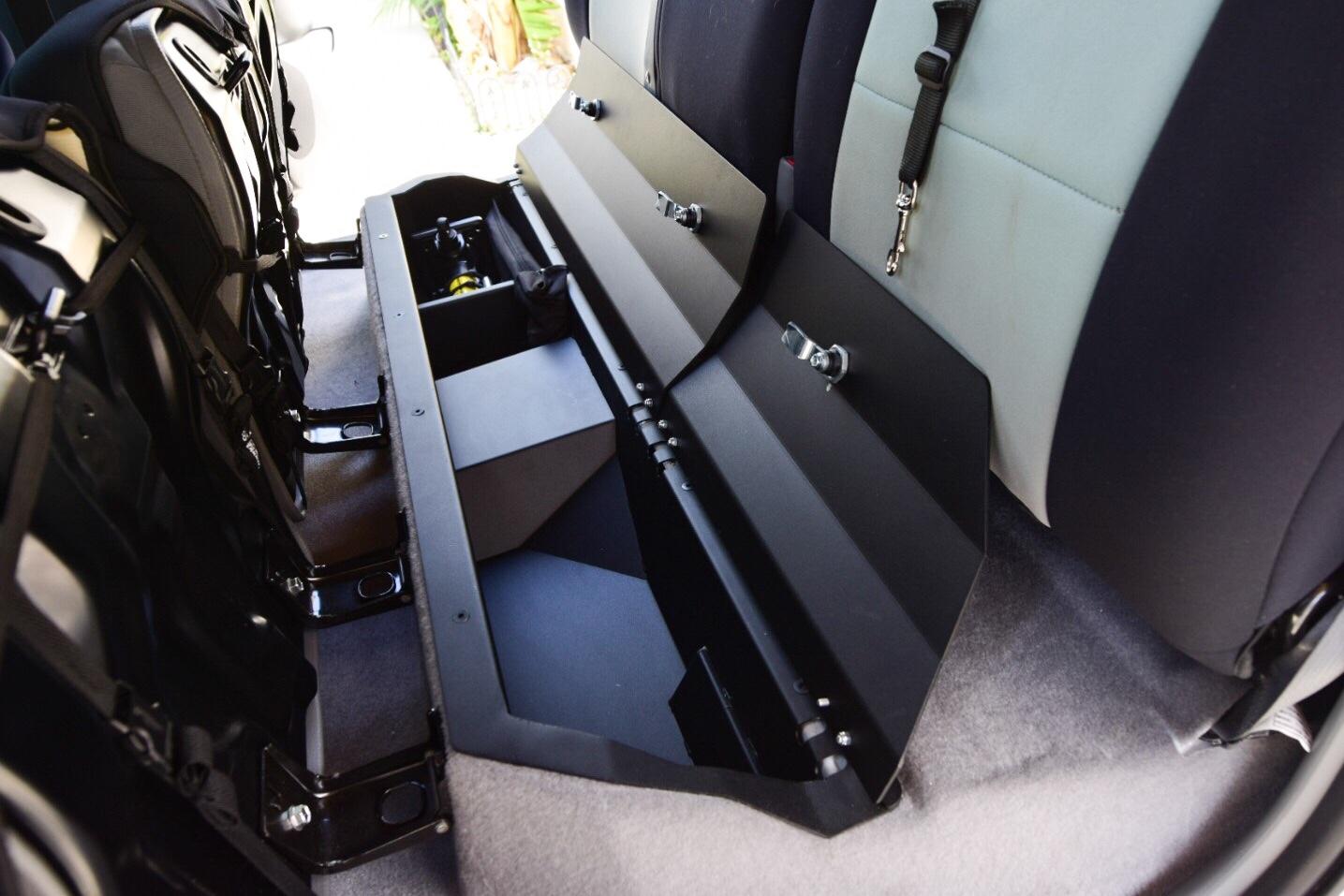 Esp Truck Accessories Tacoma Lockable Rear Under Seat Storage Unit Ttora Forum