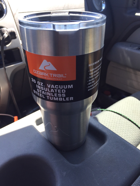 84bffebadf8 I just bought a yeti cup knockoff at Walmart for $9.74! It looks just like  the 2 real McCoys I have at home.