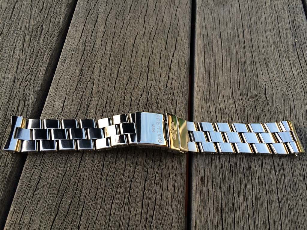 mode prix imbattable rencontrer SOLD: Breitling Pro II Stainless Steel Bracelet 20-18mm