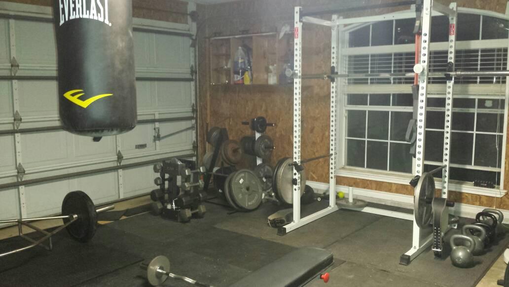 Home basement garage gym pictures archive m carbine forums
