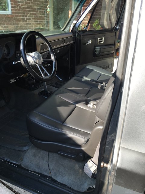 New Chevy Truck >> Bench seat swap