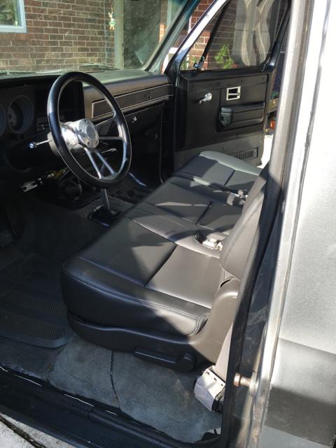 Bench seat swap