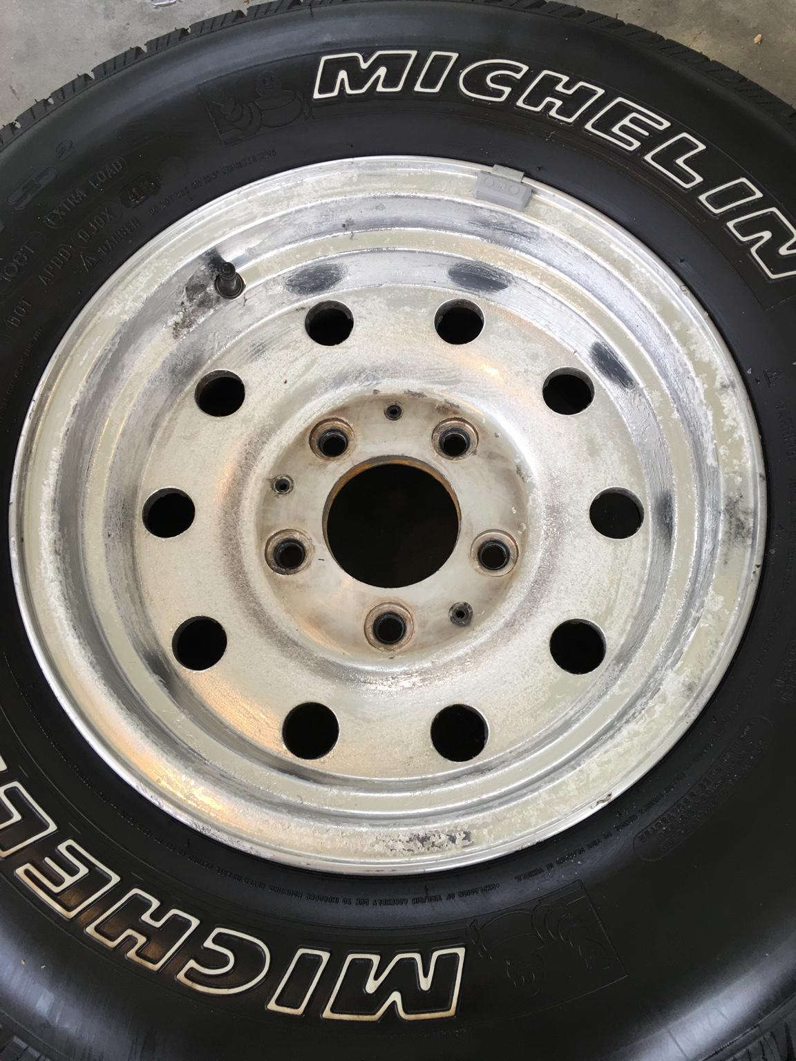 Wet Sanding Clear Coat >> Refinish aluminum bullet hole rims - Ford F150 Forum